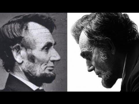 Abraham Lincoln y Daniel Day-Lewis. Fotografía tomada de http://www.scrollonline.net