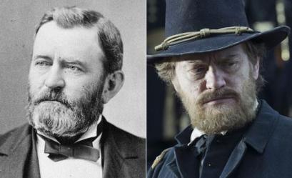 Ulysses Grant y Jared Harris. Fotografía tomada de http://www.slate.com