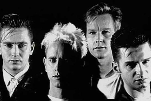 Depeche Mode alrededor de 1990 durante la época de Violator.  Fotografía tomada de www.mixmag.net