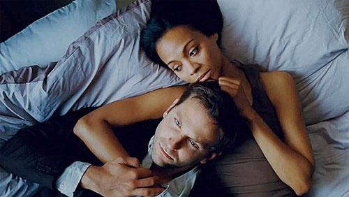 Bradley Cooper y Zoe Saldana. Fotografía tomada de movieboozer.com