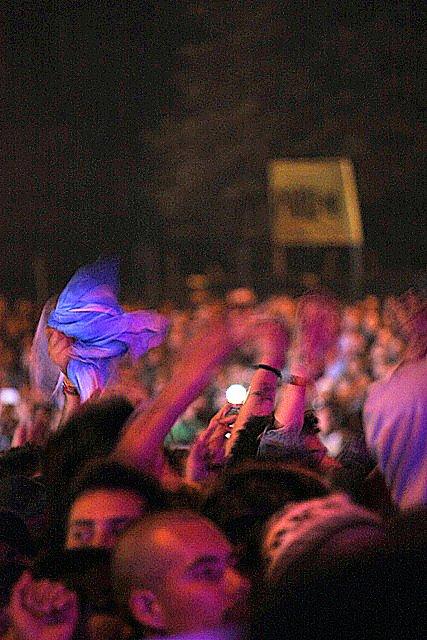 Rock Al Parque 2012. Fotografía. Gina Navarro.