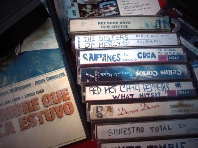 Cassettes. Fotografía Manuel Estevez.