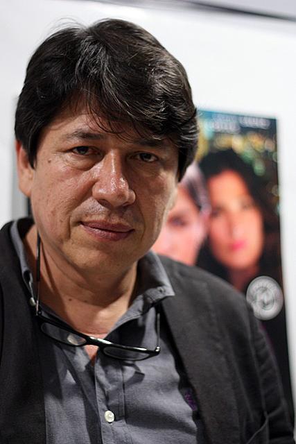 Antonio Dorado . Fotografía Gina Navarro.