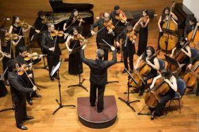 la Orquesta juvenil de Cámara