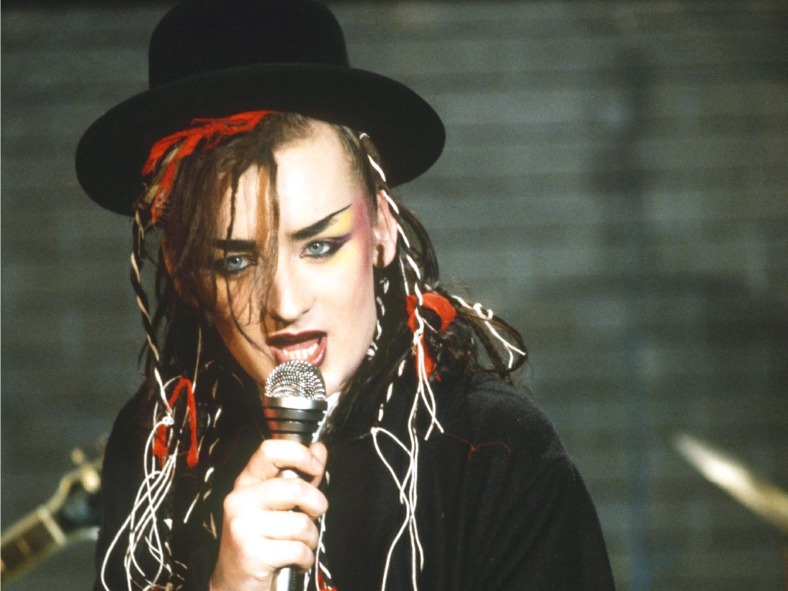 Boy George. Foto tomada de www.independent.co.uk.
