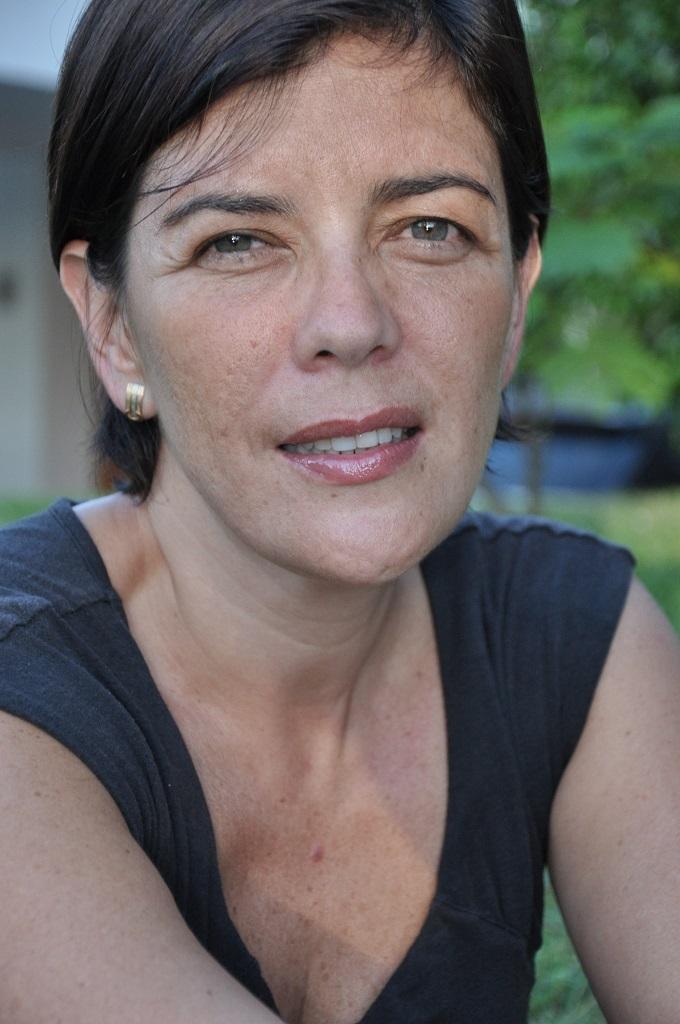 Magela Baudoin, ganadora del premio. Cortesía Trébol comunicaciones.