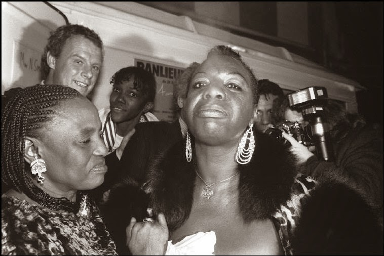 Miriam Makeba y Nina Simone